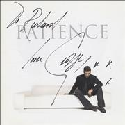 George Michael Patience - Autographed USA CD album
