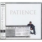 George Michael Patience Japan CD album Promo