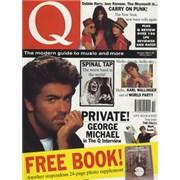 George Michael Q - October 1990 UK magazine
