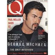 George Michael Q Magazine UK magazine