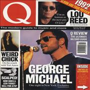 George Michael Q Magazine UK magazine