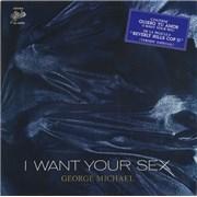 "George Michael Quiero Tu Amor - I Want Your Sex Mexico 12"" vinyl"