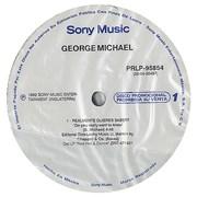 """George Michael Realmente Quieres Saber? Mexico 12"""" vinyl Promo"""