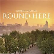George Michael Round Here UK CD single