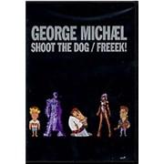 George Michael Shoot The Dog / Freeek! UK DVD Single