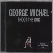 George Michael Shoot The Dog UK CD single