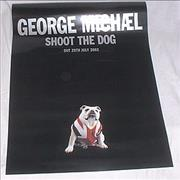 George Michael Shoot The Dog UK poster Promo