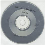 George Michael Somebody To Love - No P/s France CD single Promo