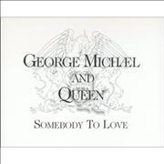 George Michael Somebody To Love Netherlands CD single