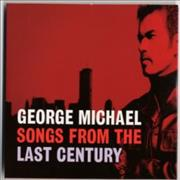 George Michael Songs From The Last Century UK CD album Promo