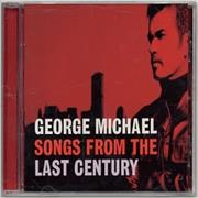 George Michael Songs From The Last Century USA CD album Promo