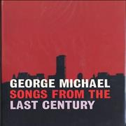 George Michael Songs From The Last Century Spain press kit Promo