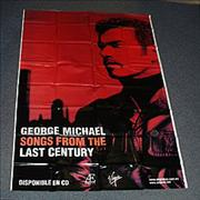 George Michael Songs From The Last Century Mexico display Promo