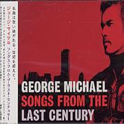 George Michael Songs From The Last Century Japan CD album Promo