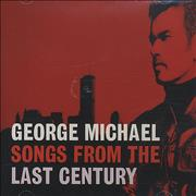 George Michael Songs From The Last Century UK CD album