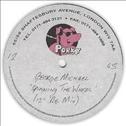 "George Michael Spinning The Wheel UK 12"" vinyl"