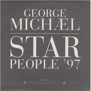 George Michael Star People - Radio Edit UK CD single Promo