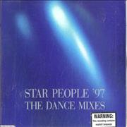 George Michael Star People '97 Dance Remixes Australia CD single