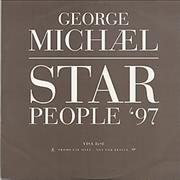 "George Michael Star People '97 France 12"" vinyl Promo"