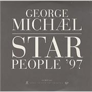 George Michael Star People '97 UK CD single Promo
