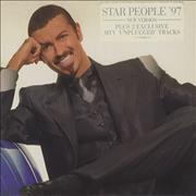 George Michael Star People UK CD single