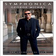 George Michael Symphonica - The Orchestral Tour UK poster