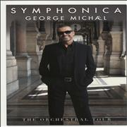 George Michael Symphonica UK poster