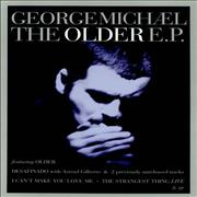George Michael The Older E.P. UK display Promo