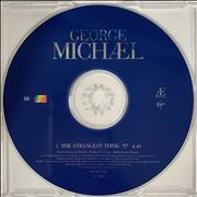 George Michael The Strangest Thing '97 UK CD single Promo