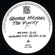 "George Michael Too Funky Brazil 12"" vinyl"