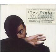 George Michael Too Funky UK CD single