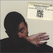 George Michael Too Funky USA CD single Promo