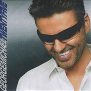 George Michael Twentyfive Club Megamix UK CD-R acetate Promo