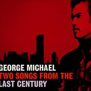 """George Michael Two Songs From The Last Century France 12"""" vinyl Promo"""