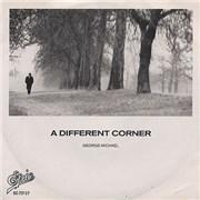 """George Michael Una Esquina Differente - A Different Corner Mexico 7"""" vinyl"""