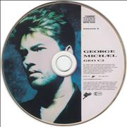 George Michael Waiting For That Day - Picture UK CD single