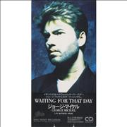 """George Michael Waiting For That Day Japan 3"""" CD single"""