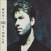 George Michael Waiting For That Day Germany CD single