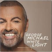 George Michael White Light UK CD single Promo