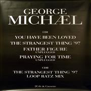 George Michael You Have Been Loved - Pair of Billboard Posters UK poster Promo