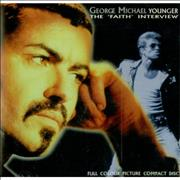 George Michael Younger - The 'Faith' Interview UK CD album