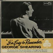 Click here for more info about 'George Shearing - It's Easy To Remember'