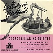 Click here for more info about 'George Shearing - Lullaby Of Birdland EP'