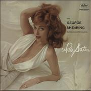 Click here for more info about 'George Shearing - White Satin - EX'
