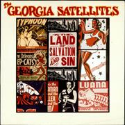Click here for more info about 'Georgia Satellites - In The Land Of Salvation And Sin - Promo stickered'