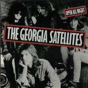 Click here for more info about 'Georgia Satellites - Open All Night - Stickered'