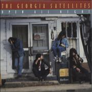"Georgia Satellites Open All Night UK 7"" vinyl"