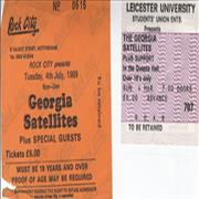 Click here for more info about 'Georgia Satellites - Set Of 2 Used Concert Tickets'