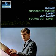 Click here for more info about 'Georgie Fame - Fame At Last - Factory Sample'