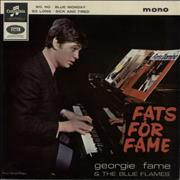 Click here for more info about 'Georgie Fame - Fats For Fame EP'